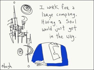I Work for Large company