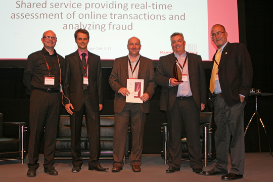 BT and Oracle accepting a European Iidentity Award